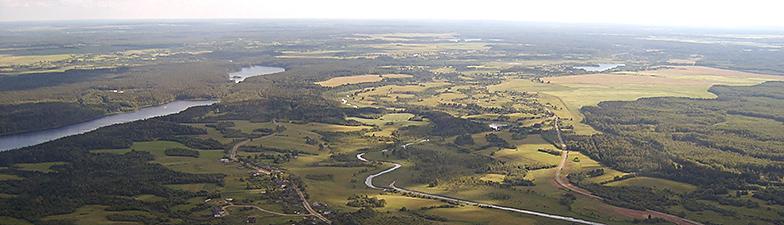 Панорама Ушачи